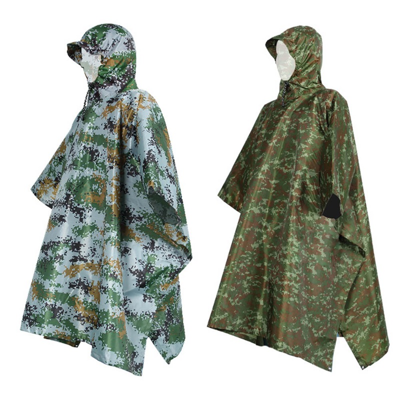Cloak Raincoat Impermeable Outdoor Riding-Shirt Waterproof Durable Camping-Tour Women