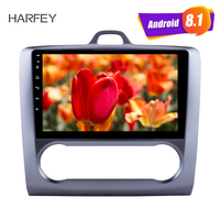 Harfey double DIN HD Touchscreen 9Android 8.1/7.1 1080P headunit multimedia stereo for 2004 2011 Ford Focus Exi AT with FM AUX