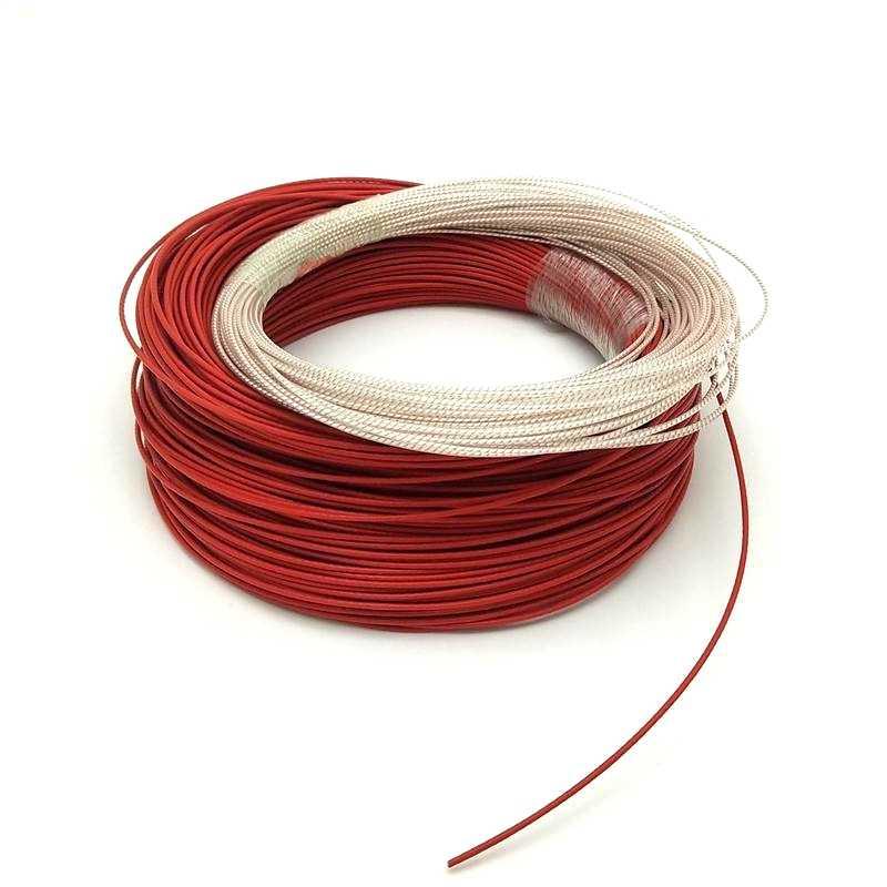 0 3-40 ohm/m 12v24v36v48v teflon jacket low voltage electric heating  cable,used