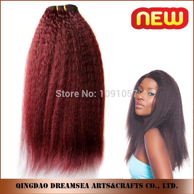 Wholesale red 99j brazilian hair weave bundles 8 28 kinky wholesale red 99j brazilian hair weave bundles 8 28 kinky straight human hair extension for black women in hair weaves from hair extensions wigs on pmusecretfo Choice Image