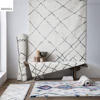AOVOLL New Soft Nordic Style Carpets For Living Room Bedroom Kid Room Rugs Home Carpet Floor Door Mat Luxury Simple Area Rug