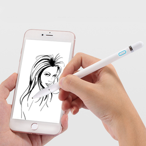 Image 2 - Aktif kapasitif stylus kalem Kalem Için iPad Mini iPhone Kalem dokunmatik ekran kalemi Android Samsung Için Huawei Ince Nokta Dokunmatik