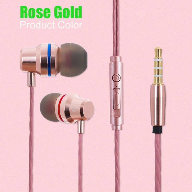 Stereo Earphone Headphones With Microphone Volume Control Earbuds Bass Headset ear phone for Gretel A7 A9