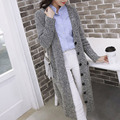 Wholesale Women Clothing 2016 Spring Winter Fashion Long Sleeve Women's Casual Outwear Single Breasted Long Cardigan Sweaters