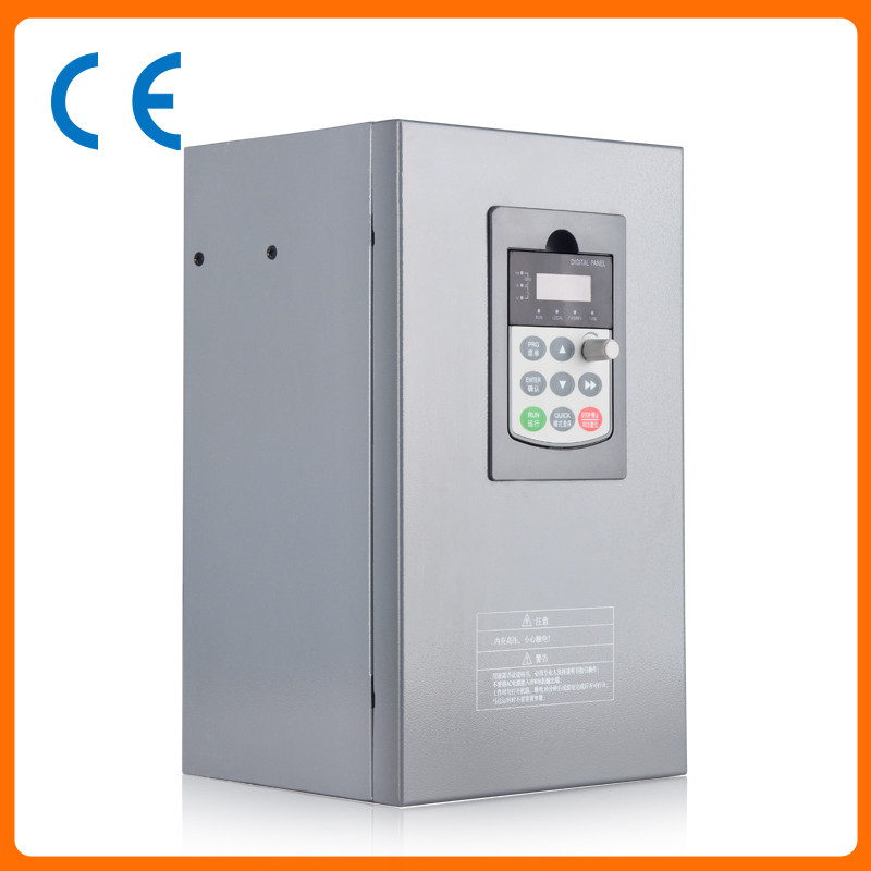 7.5kw 10HP 300hz general VFD inverter frequency converter 3phase 380V in 3phase 0-380V out 17A three phase general frequency converter 2 2kw 380v three phase motor warranty 18 delta