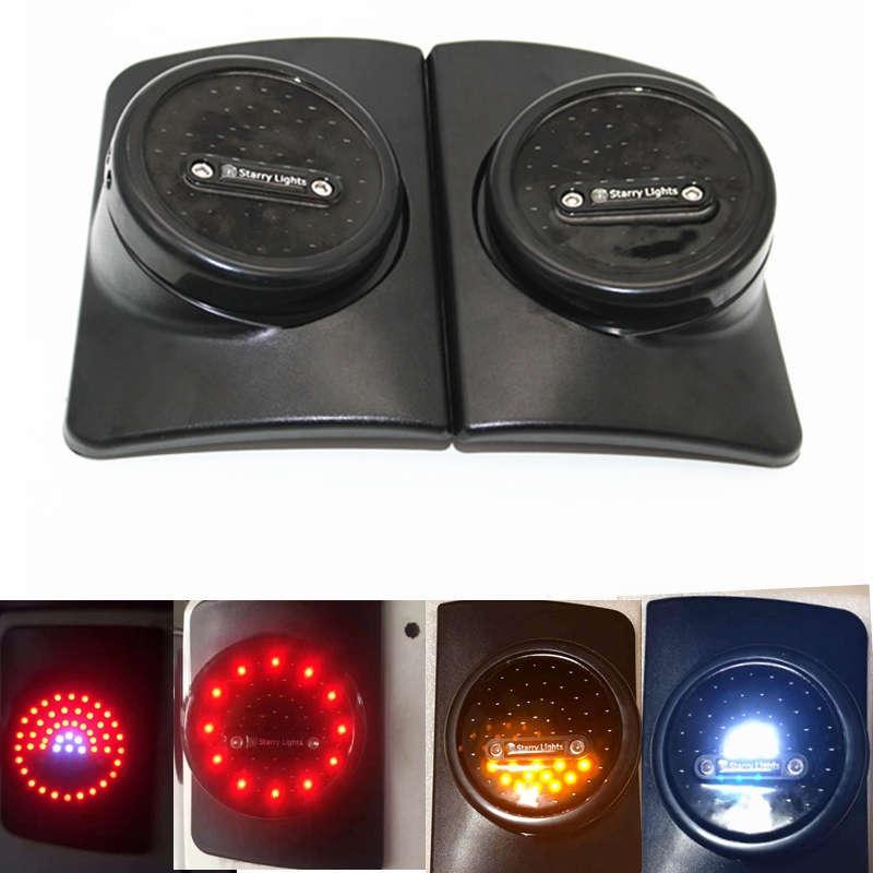 LED хвост свет тормоз свет, Обратный Резервный Янтарь поворотники США/евро-Версия для Wrangler JK в 2 двери 4 двери