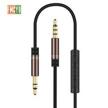 ジャック 3.5 オーディオ延長ケーブル P20 lite ステレオ 3.5 ミリメートルジャック Aux のためのヘッドフォン