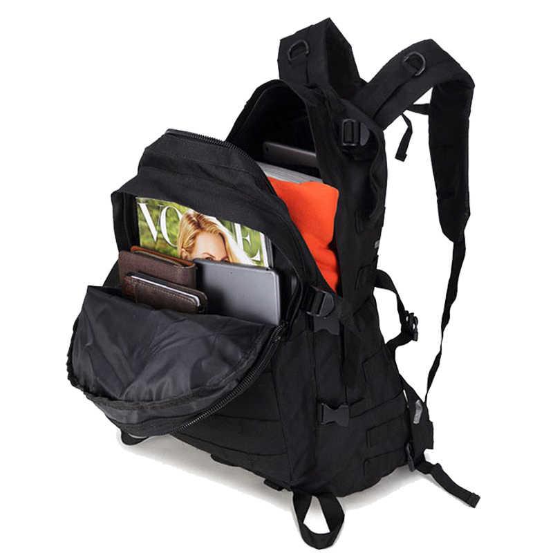 40L Taktis Militer Assault Pack Tentara Molle Tahan Air Bug Tas Kecil Rucksack untuk Outdoor Hiking Camping Berburu