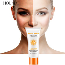 HOUMAI Whitening Sunscreen Emulsion SPF 30 Sun Facial Cream Skin Filter Foundation Sun Lotion Tanning Oil Control Moisturizing недорого
