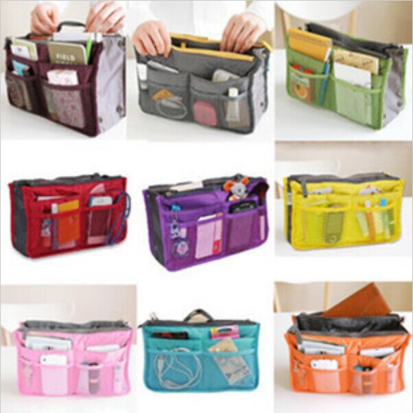 Large Storage Bag Hot Necessaire Women Purse Handbag Organizer Organiser Travel Travelling Insert Liner Cosmetic In Bags Cases From