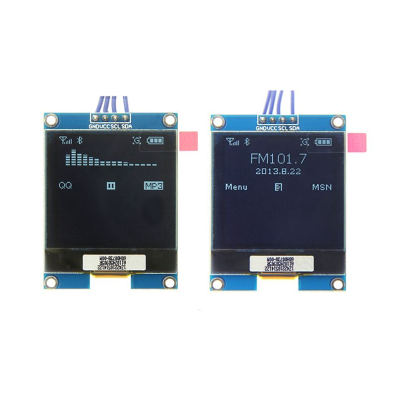 1.5inch <font><b>128x128</b></font> <font><b>OLED</b></font> Shield Module <font><b>Display</b></font> Screen Encoder With Driver IC SSD1327 Digital Spare Parts For Raspberry Pi For STM32 image