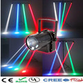 10W RGB change color LED Spotlight Mount Pinspot DJ disco party Effect Stage Lighting with EU/US Plug Free Shipping