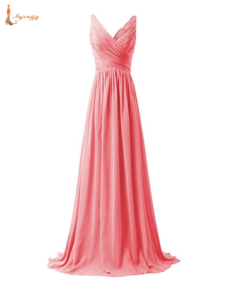 Popular pink and blue bridesmaid dresses buy cheap pink and blue najowpjg lace up black white royal navy blue red yellow coral pink rengency gold fuchsia grey ombrellifo Images