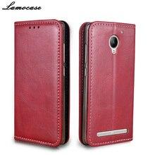 Кошелек кожаный чехол для Lenovo Vibe C2 Мощность флип чехол для Lenovo Vibe C2 Мощность K10A40 5.0 защитная телефон сумки и случаи JR0