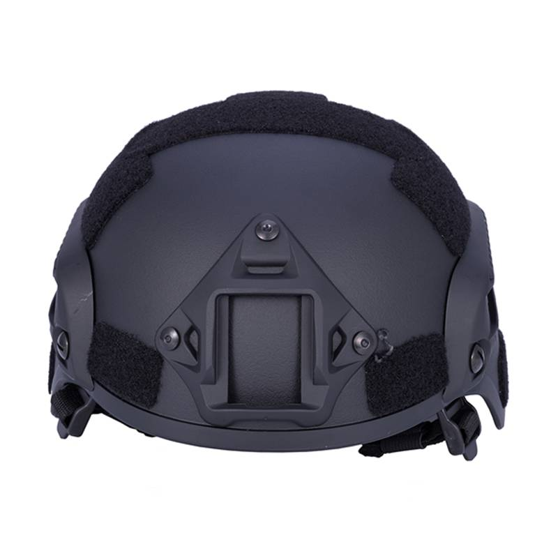 Riding Mili tary Hunting Combat Airsoft Paintball ABS Helmet with Mount Rail black(China)