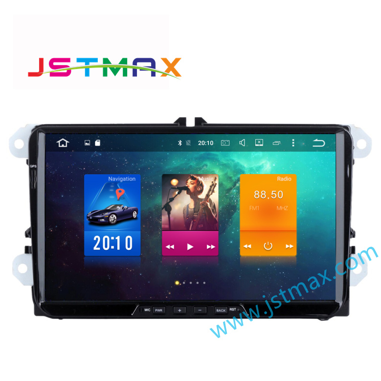 1024*600 2 Din 9&#8243; <font><b>Car</b></font> GPS ( Without DVD ) Media Player For VW/Volkswagen/Passat/POLO/GOLF/Skoda/Seat/Leon With GPS FM RDS Maps