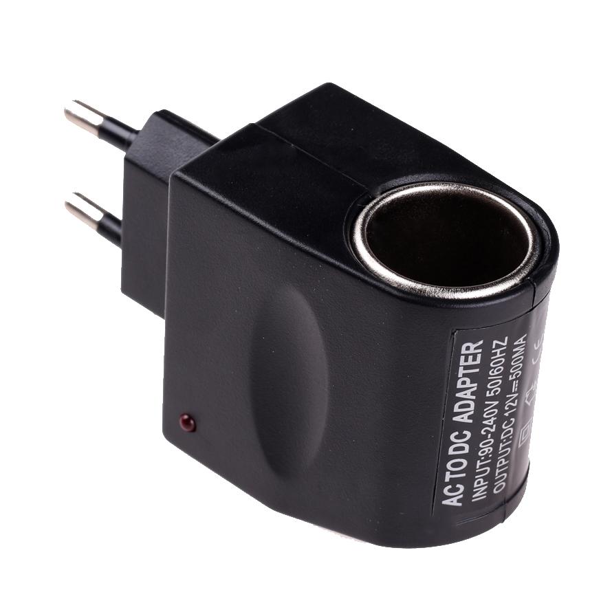 Высокое качество полезная автомобильного прикуривателя питания переменного тока 220В в постоянный 12В черный адаптер конвертер мини автомобильные аксессуары