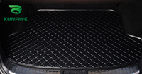 Car Styling Car Trunk Mats For VW Touran Trunk Liner Carpet Floor Mats Tray Cargo Liner