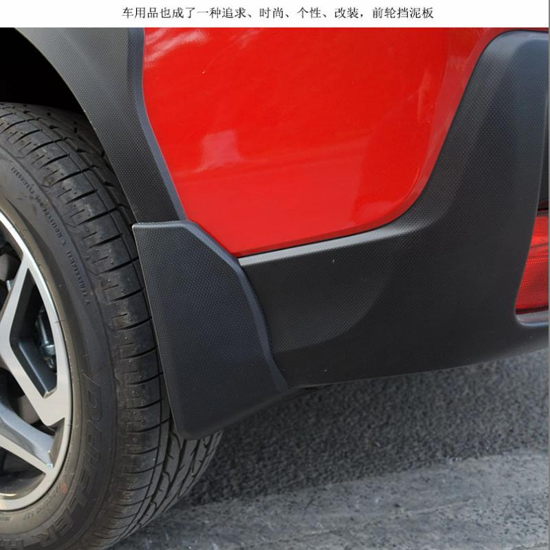 Car Styling <font><b>Accessories</b></font> For <font><b>Subaru</b></font> <font><b>XV</b></font> <font><b>2018</b></font> Mud Flaps Splash Guards Mudguard Fender With Screws Car-Styling Sticker 2019 4pcs image