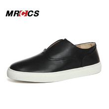 Special Shell Design Men's Fashion White Shoes,Microfiber Leather Simple Platform Casual Flats,Large Size 11.5 48 MRCCS