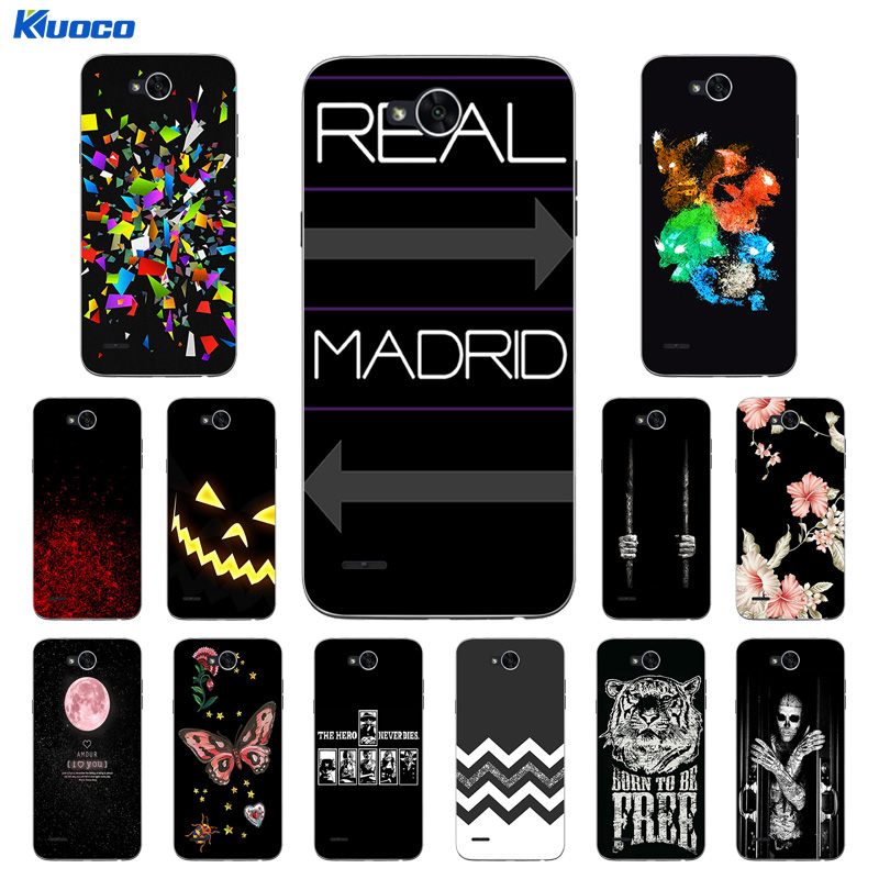 for LG X Power 2 Silicone Case for K10 Power Cover Character Printing Soft TPU Mobile Ph ...