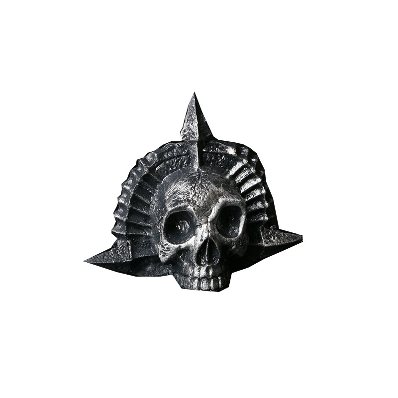 Devoted Assassins Skull Pirate Black Flag Statue Action Figure Brooch Pretend Coslay Tool Anime Creed Boy Game Toys Goast Head Halloween Action & Toy Figures