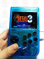 Raspberry Pi gameboy handheld game console with LCL Super HD IPS LCD & Shock joystick it need booking and available in 20 days