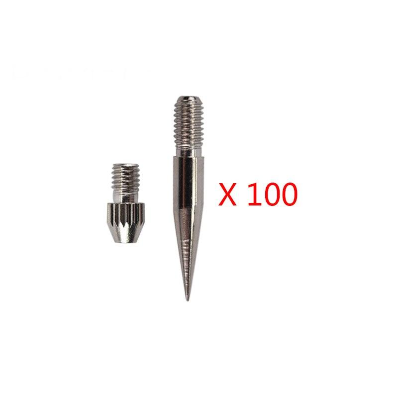 100 paires aiguilles stylo Plasma conseils Micro taupe enlèvement stylo aiguille pour balayage tache taupe tache de rousseur Plasma Point Machine soins de beauté