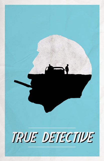 True Detective TV Series Propaganda Poster