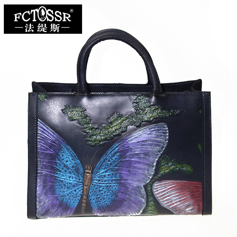 Сумка мессенджер из натуральной кожи, Женская винтажная сумка через плечо ручной работы