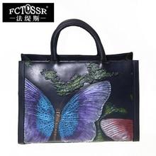 Genuine Leather Bag Women shoulder Bags Vintage Handmade Handbag Shell Messenger Bag Cow Leather Crossbody Bag Womens