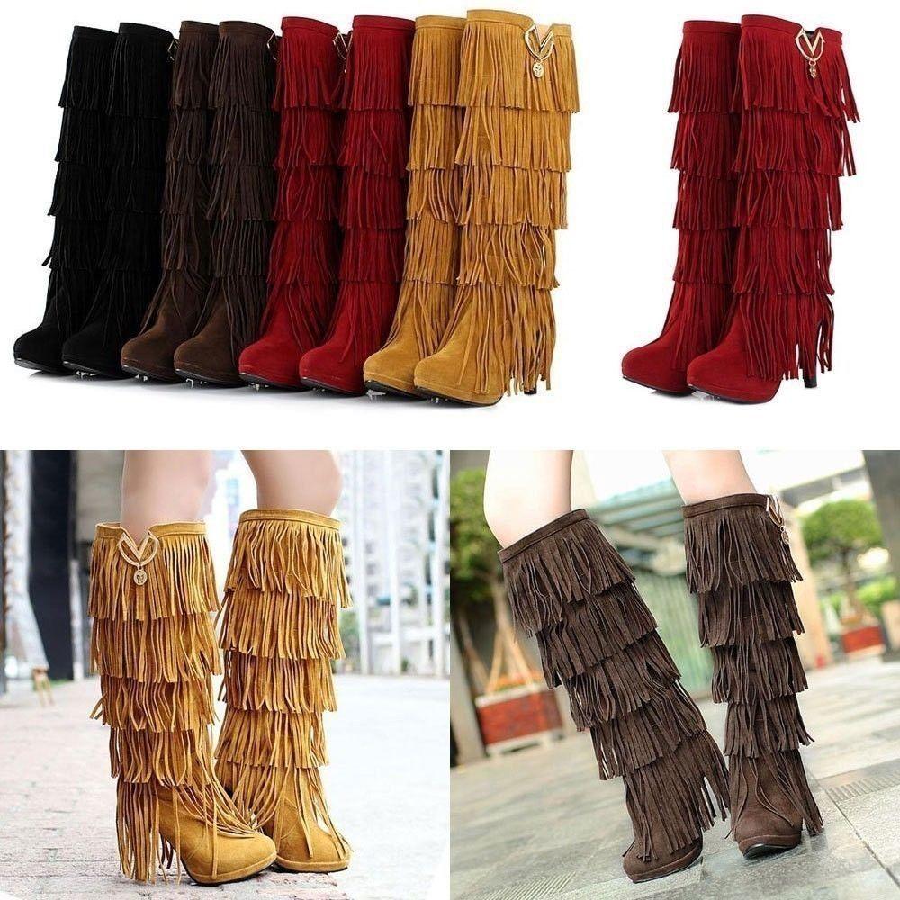 oothandel moccasin fringe boots Gallerij - Koop Goedkope moccasin fringe  boots Loten op Aliexpress.com