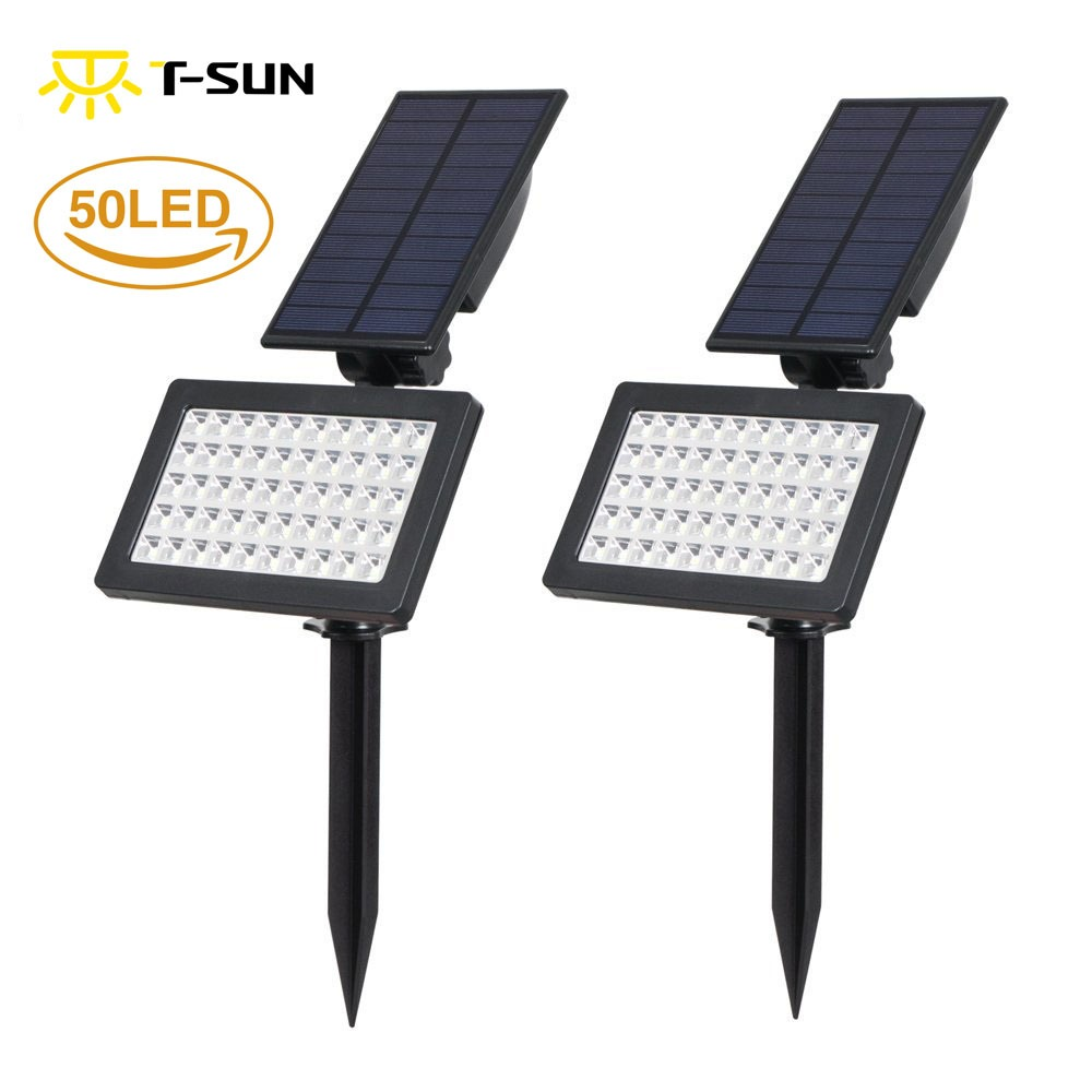 100% Quality Newest Solar Led Outdoor Path Light Spot Lamp Yard Garden Lawn Landscape Waterproof @8 Goods Of Every Description Are Available Led Lamps