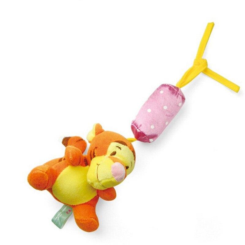 1 pcs Baby Rammelaars Pasgeboren speelgoed kinderwagen speelgoed Winnie cartoon baby bed rammelaar bebe baby pluche speelgoed 3