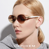 Glasses Frame Rimless Sunglasses 2019 New High Quality Men Round Sunglass Luxury Eyewear Eyeglasses Buffalo Horn Glasses