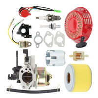 New High Quality Carburetor Kit For Honda GX240 GX270 Recoil Starter Ignition Coil Air Filter