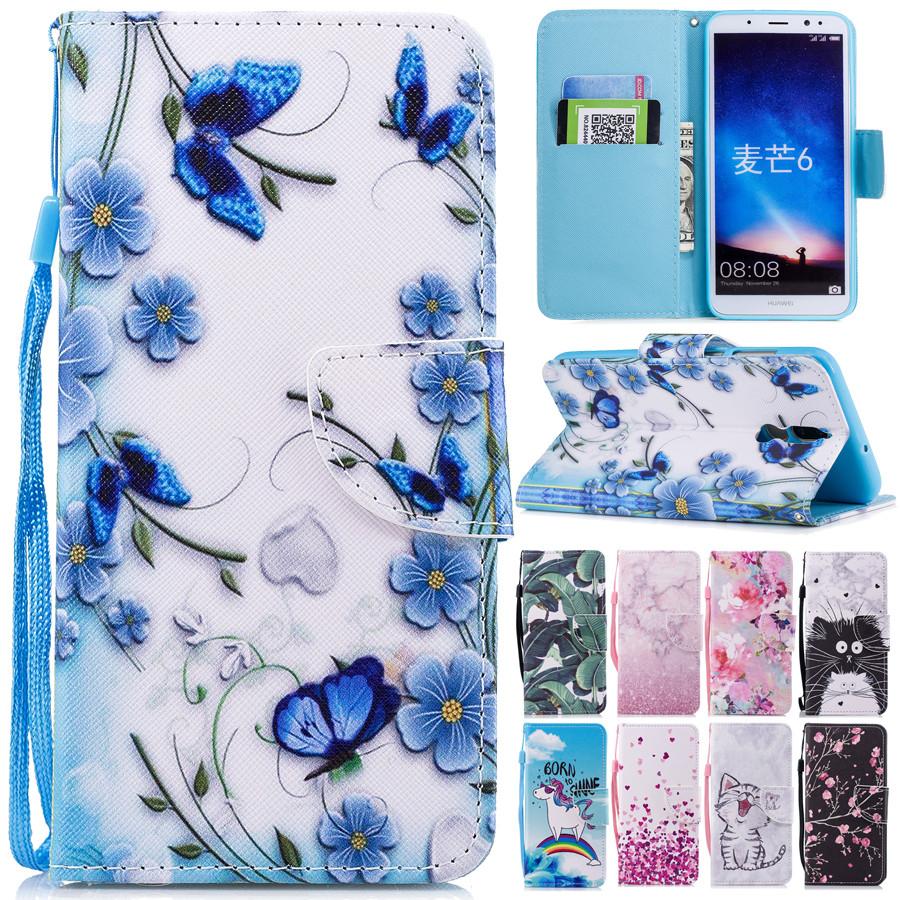 Huawei Mate20 <font><b>Lite</b></font> Leather <font><b>Case</b></font> on sFor Coque Huawei <font><b>Mate</b></font> 20 <font><b>Lite</b></font> Cover Huawei <font><b>Mate</b></font> <font><b>10</b></font> <font><b>Lite</b></font> Covers Wallet <font><b>Flip</b></font> Stand Phone <font><b>Cases</b></font> image