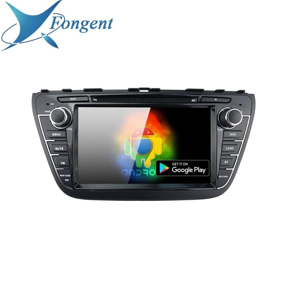 For Suzuki Sx4 S Cross 2013 2014 2015 2016 Car 8 Ips Android Head Unit Px6 Dvd Multimedia Auto Radio Gps Audio Rds Map Ips Dvr Car Multimedia Player Aliexpress