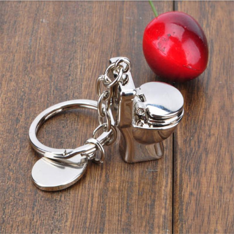 2015 Toilet Key Ring Mini Chain Classic 3D Keychain Bathroom Cute Creative Gift trinket Free Shipping. Compare Prices on Bathroom Trinkets  Online Shopping Buy Low Price