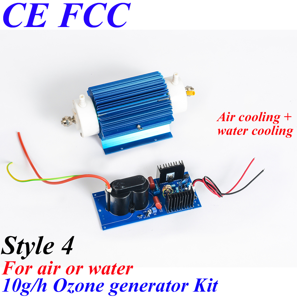 Pinuslongaeva CE EMC LVD FCC 10g/h 10grams Quartz tube type ozone generator Kit ozone water air AC220V AC110V AC127V AC240V pinuslongaeva ce emc lvd fcc factory outlet 10g h quartz tube type ozone generator kit high voltage discharge type ozone kits