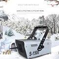 Пульверизатор + провод управления 110 В 220 В 1500 Вт Снежная машина Свадебные снежные машины профессиональное DJ оборудование 100% новое