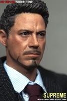 Iron Man Captain America: Civil War 1/6 scale Tony Stark Robert Downey Jr Head Sculpt Collectible Figures