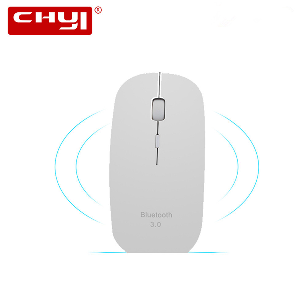 Slim Bluetooth Mouse 3.0 Mini Wireless Mouse Silent Optical Game Mouse 1600DPI Click Gaming Mice for Macbook Laptop Tablet Mause