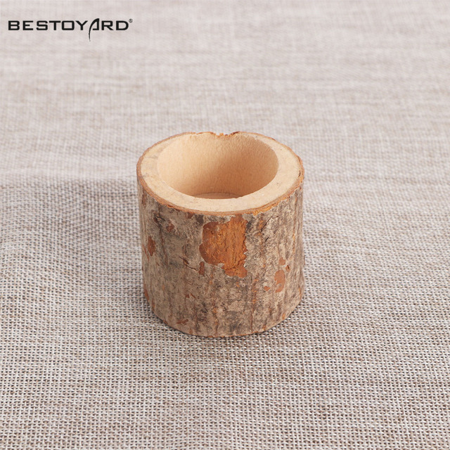 Wooden Candlestick Candle Holder Table Decoration For Festival Party Wedding Decoration