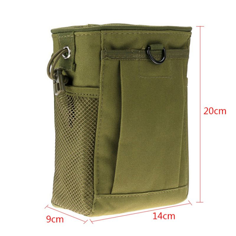 Military Molle Ammo Pouch Pack Tactical Gun Magazine Dump For Hunting 13