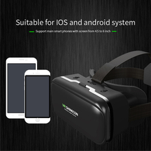 Virtual Reality Glasses 3D Glasses VR Box Movies for iPhone Galaxy S9  SmartPhones Cardboard Pro Version Virtual Reality Black все цены