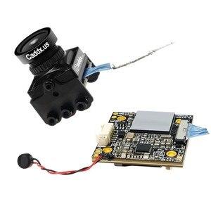 Image 5 - Hãng Caddx Rùa V2 1080P 60fps FOV 155 Độ Siêu WDR Mini HD FPV Camera OSD Mic Cho RC Drone