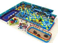 kids indoor playground park children fun city Large scale recreation ground YLW IN171062