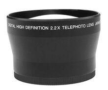 2.2x67mm tele lente de ampliação para 67mm canon nikon dslr/câmera slr digital