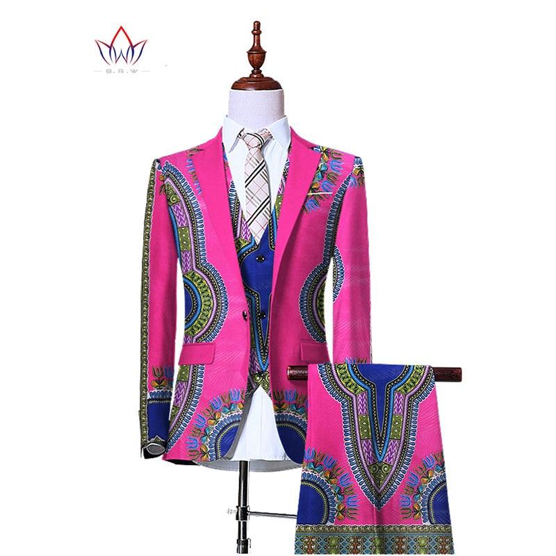 (Jacka + Vest + Byxor) Blazers for Men 3 Piece Slim Fit Cowboy - Herrkläder - Foto 5